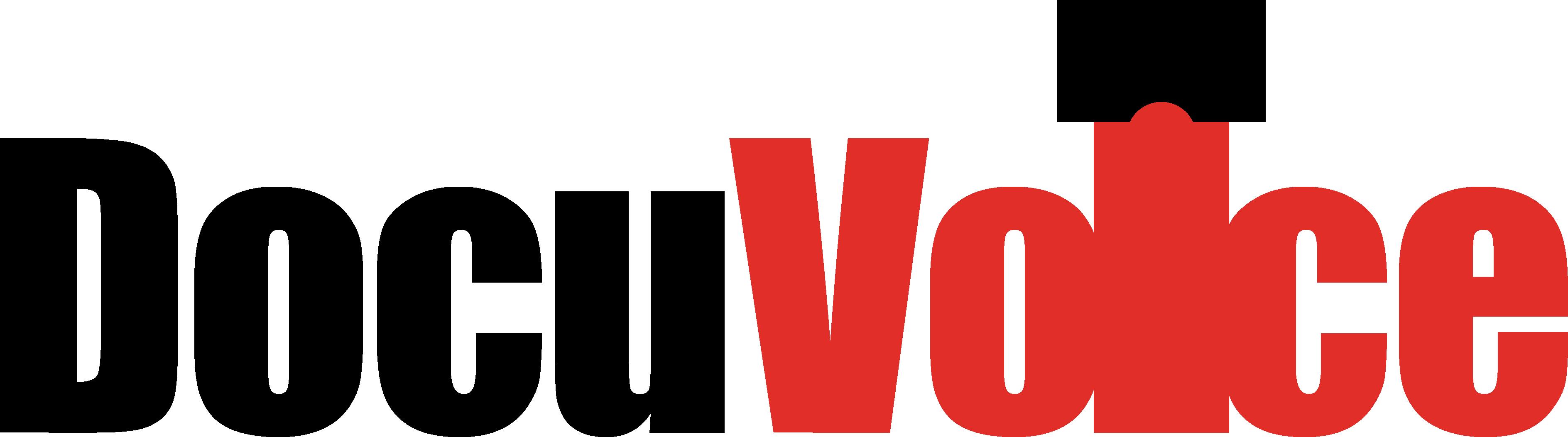 DocuVoice-Logo-black-red